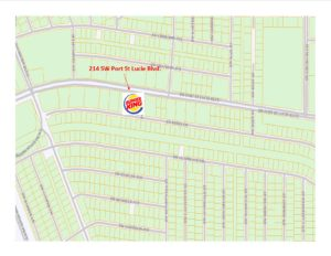Chris Klein – SOLD – Burger King Coming Soon – 214 SW Port St Lucie Blvd, Port St Lucie, FL