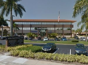 Executive office space just leased in the Royal Palm Financial Center in Stuart, Florida